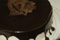 Queso con chocolate